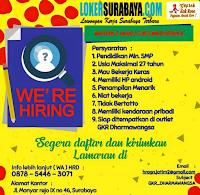 Info Loker Surabaya di Geprek Kak Rose Terbaru Desember 2019