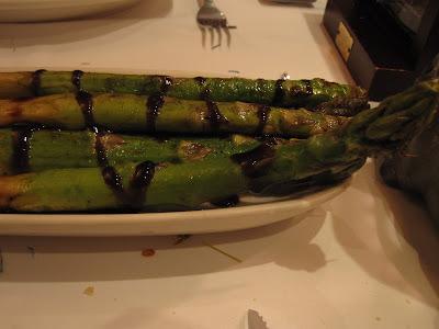 Morton's, asparagus