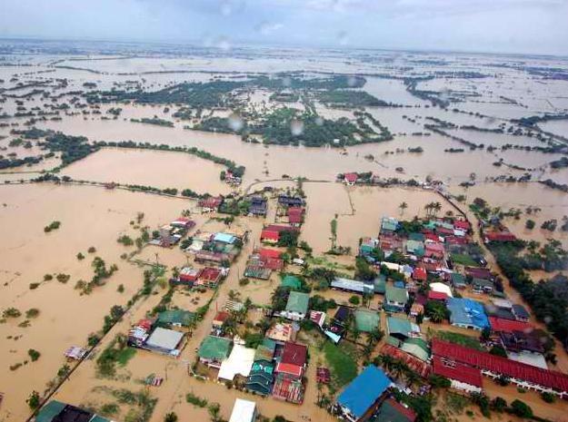 larawan ng binahang Metro Manila noong ika-7 ng Agosto, 2012
