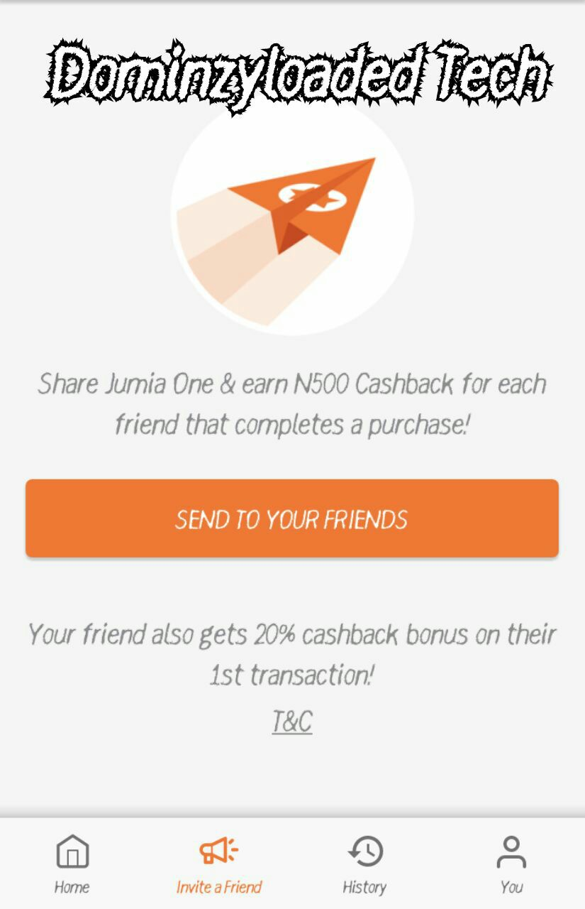 Get Free ₦500+ Airtime On Jumia One App (100% Legit) - DominzyLoaded