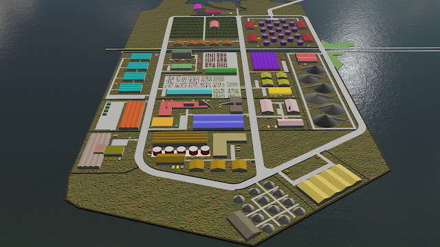 master plan industrial zone
