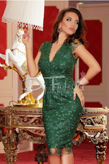 Rochie Green Excuse