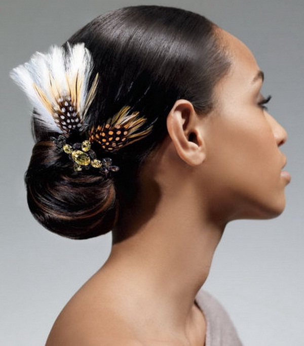 Astonishing Black Women Hairstyles For Weddings American Updo 2014 Stylish Hairstyle Inspiration Daily Dogsangcom