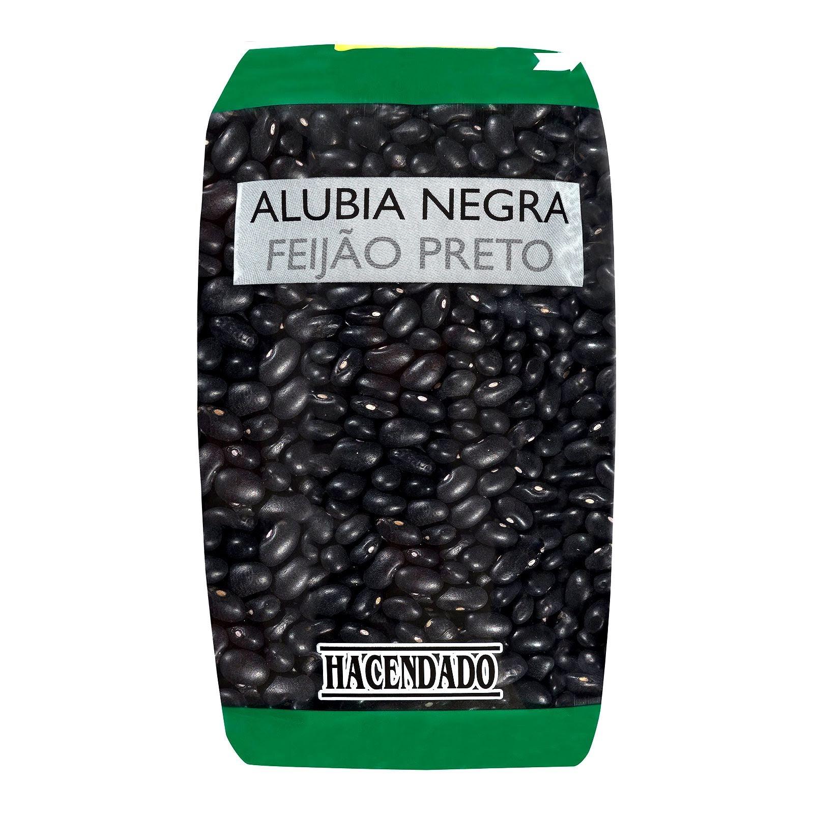 Alubia seca negra Hacendado