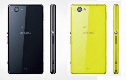 Sony Xperia Z1 F Kamera 20MP Android 4.2 Jelly Bean