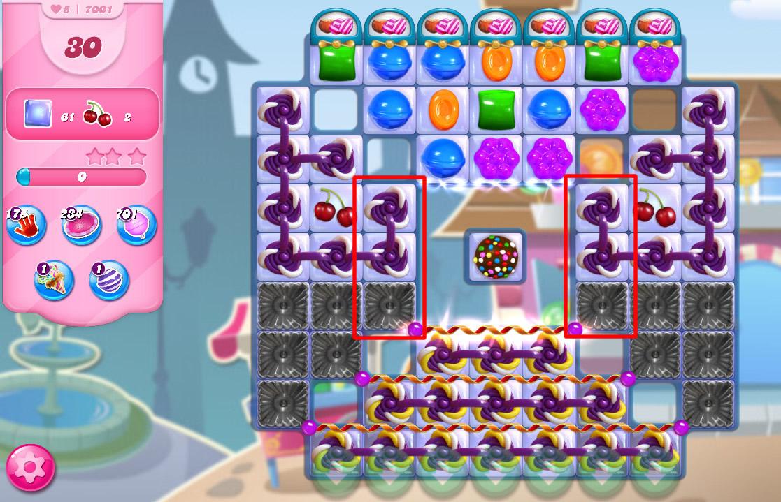 Candy Crush Saga level 7001