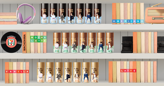 Hy BTS Special Package Coffee 2021 Edition Now Exclusively at 7-Eleven