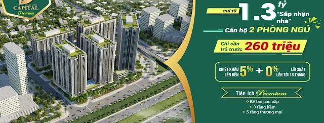 Mở bán dự án chung cư Thăng Long Capital khu đô thị Nam An Khánh