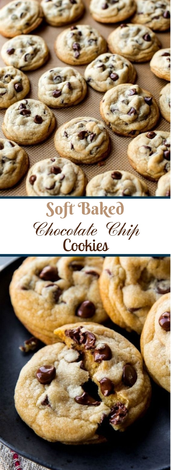 The Best Soft Chocolate Chip Cookies #chocolate #cookies