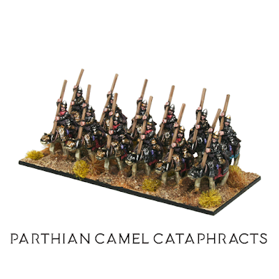 Parthian Camel Cataphracts