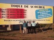 """Autoridades querem """"toque de acolher"""" para crianças e adolescentes em Entre Rios_BA"""