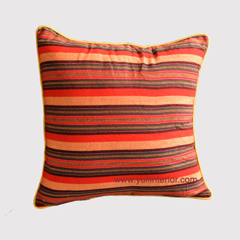 Stripe Pattern Throw Pillow
