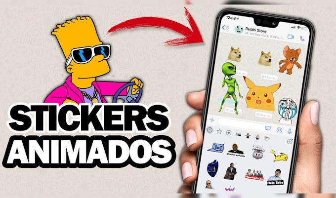 COMO Crear STICKERS ANIMADOS Para WHATSAPP