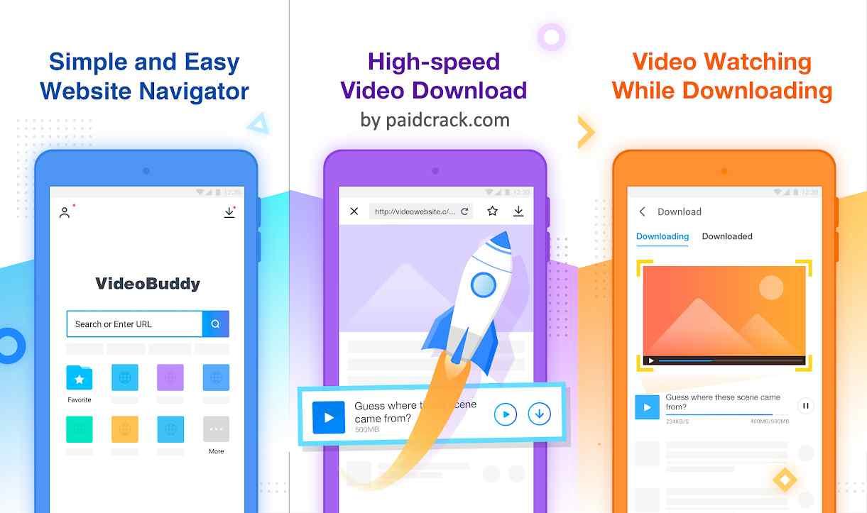 VideoBuddy - Fast Downloader, Video Detector Mod Apk 1.0.1060