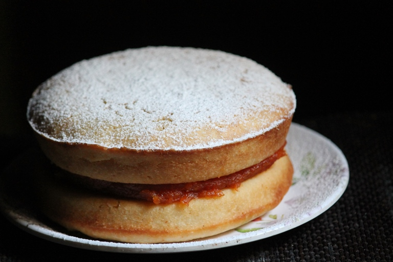 Eggless Papaya Cake Recipe