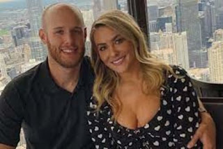 Zack Wheeler With His Wife Dominique