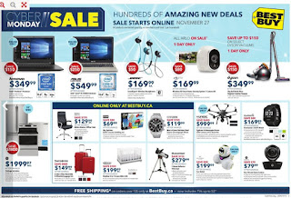 Best Buy Flyer Cyber Monday Sale Mon Nov 27 – Thu Nov 30, 2017