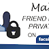 How to Make Facebook Friends Private Updated 2019