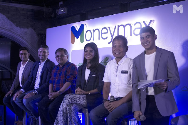 L-R: Prashant Aggarwal, Chief Commercial Officer, Compare Asia Group; James Deakin, Moneymax Influencer; Aya Laraya, Pesosense Host; Angelique Manto, Host and Influencer; Danny Gaba, Soliciting Officer in Legal, Compare Asia Group.