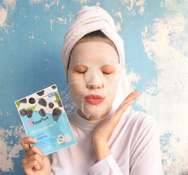 Happy Mask Berries Garden Hydrating