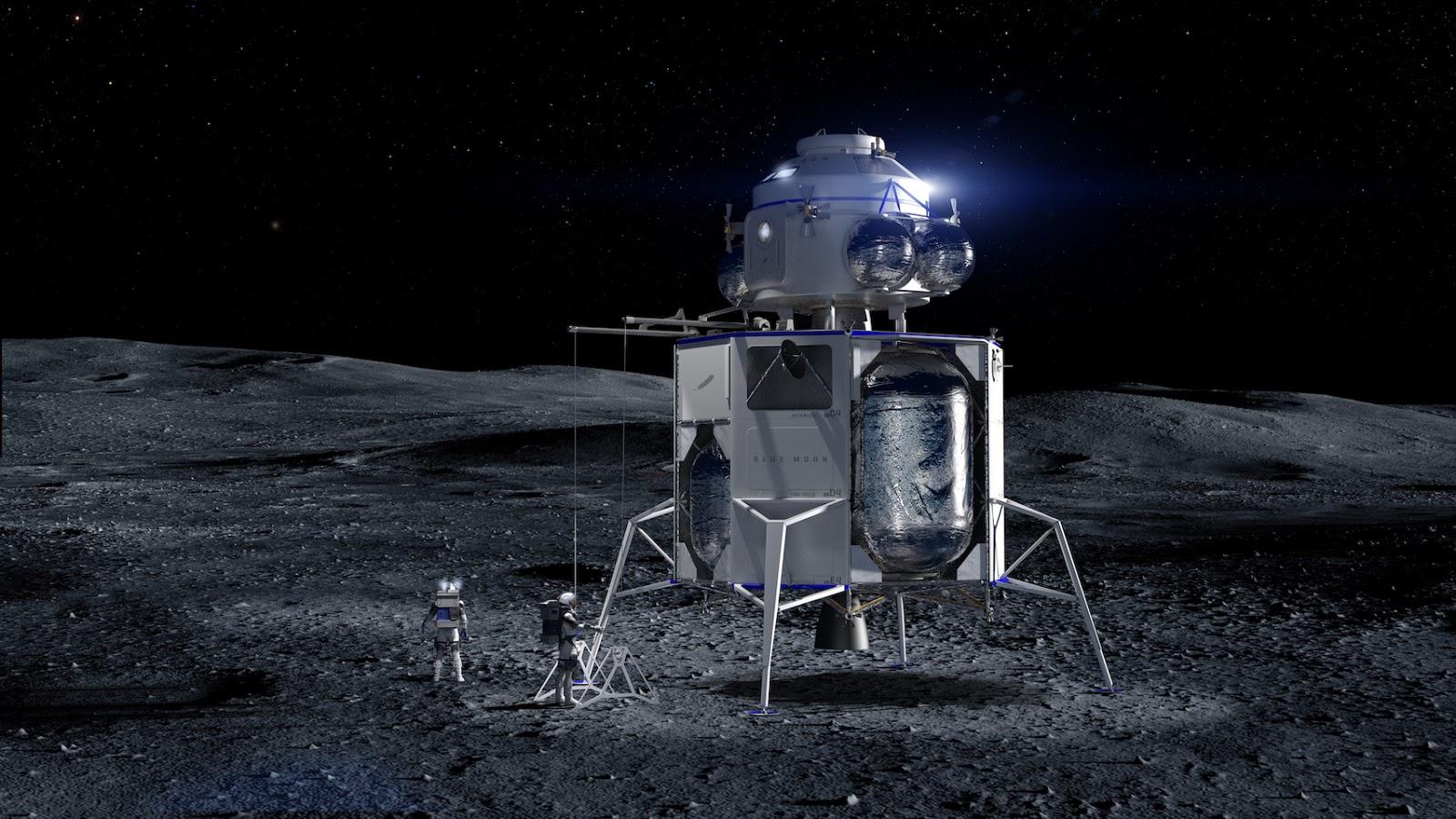 Jeff Bezos, proposta miliardaria alla NASA per il programma Artemis di ritorno alla Luna!
