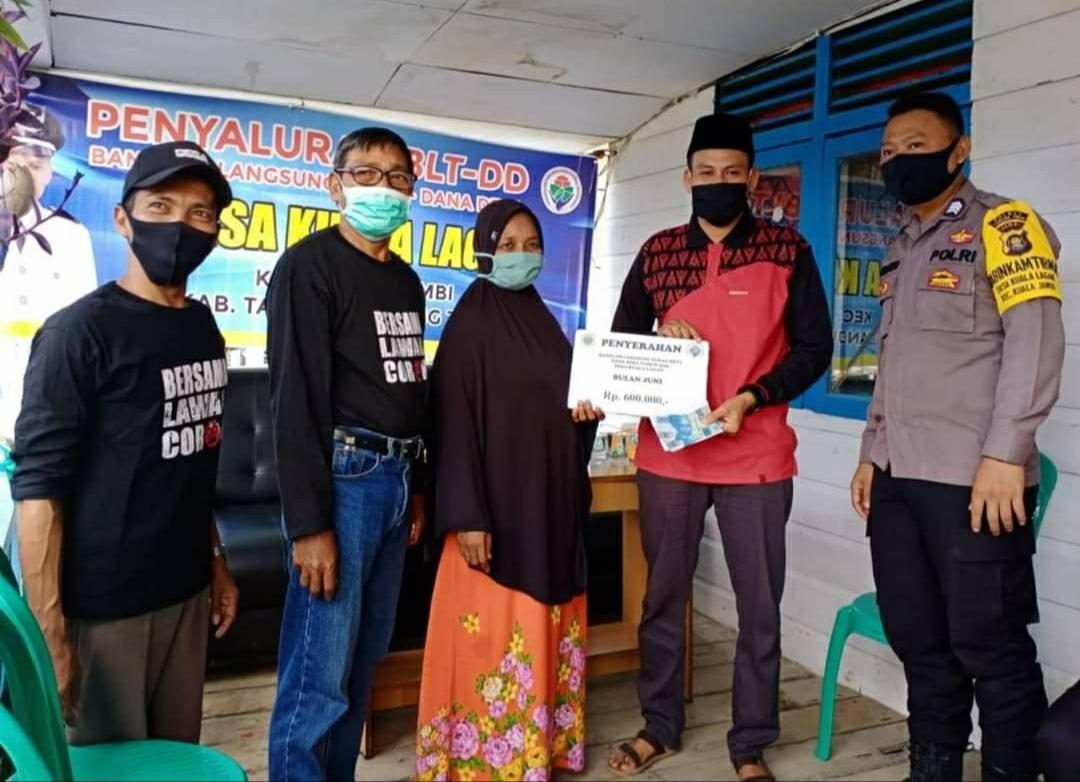 Salurkan BLT DD Tahap III, Ridwan : Diperpanjang Sampai 3 Bulan Kedepan
