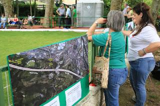 Exposición de Barakaldo Naturala sobre la Variante Sur Ferroviaria