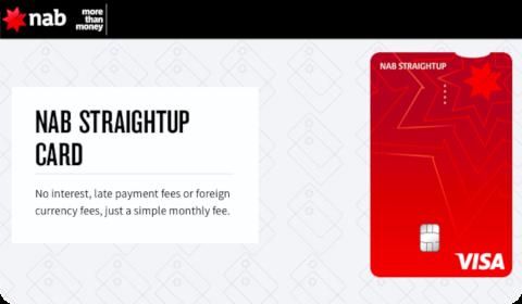 NAB Straightup Card
