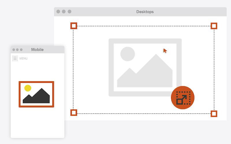 كيفية ضبط حجم صور المواضيع وتحسين جودتها