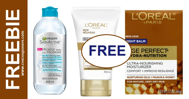 FREE L'Oreal Age Perfect Moisturizer at CVS 1-26-2-1