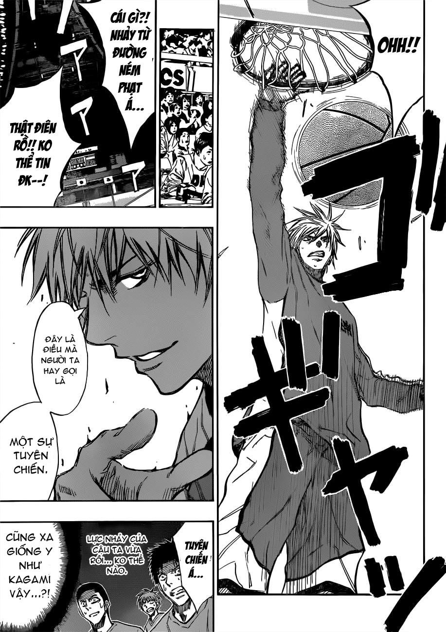 Kuroko No Basket chap 183 trang 15