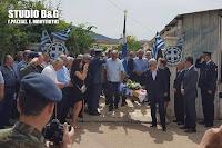 Με τιμές ήρωα έγινε η ταφή των οστών του έφεδρου ανθυπασπιστή των ΕΛΔΥΚ Κωνσταντίνου Μπροδήμα στα Δίδυμα Αργολίδας