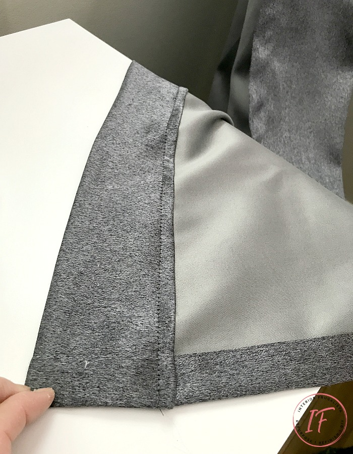 How To Shorten And Hem Curtain Panels