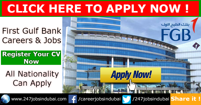 Latest First Gulf Bank Jobs Vacancies and Careers
