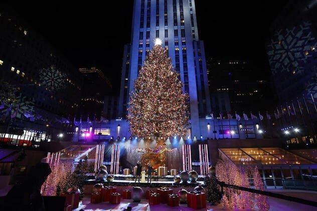 New_York-praznik-Gwen_Stefani-Rockefeller-božić-blagdani