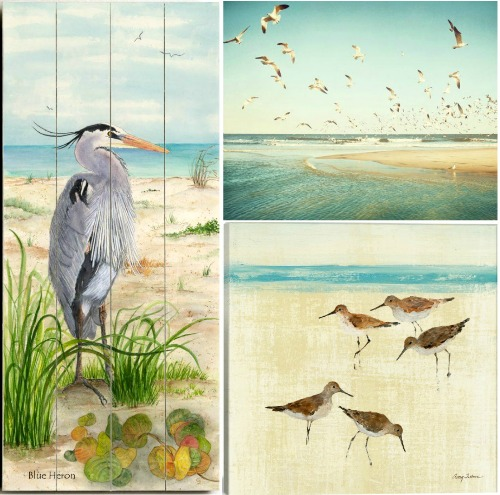 Shorebird Wall Art Blue Herons Sand Pipers Amp More