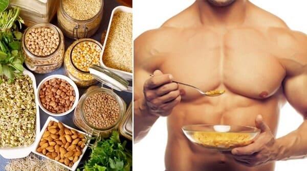 مصادر البروتين النباتي لكمال الأجسام . بروتين نباتي كامل . جدول البروتين النباتي . هل البروتين النباتي يبني العضلات . مصادر البروتين النباتي والحيواني..