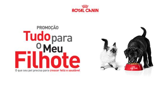 Promoção Tudo para o meu filhote Royal Canin
