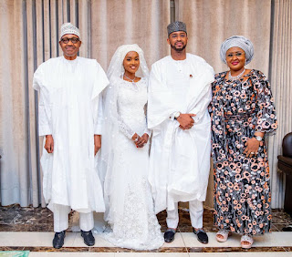 Photos from the wedding of President Buhari's daughter, Hanan
