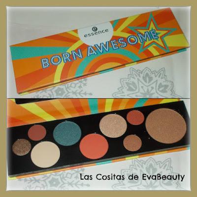 paleta de sombras de ojos maquillaje Essence