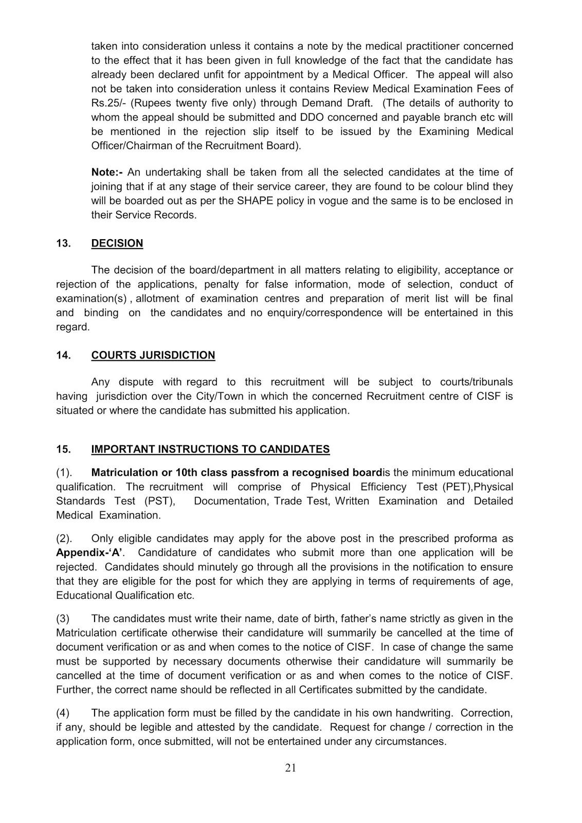 Notification-CISF-Constable-Tradesmen-Posts_21