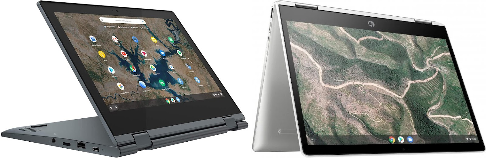 Lenovo IdeaPad Flex 3 Chromebook 11IGL05 (82BB000NSP) vs HP Chromebook x360 12b-ca0001ns