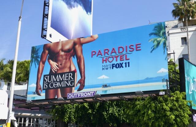 Paradise Hotel series premiere billboard