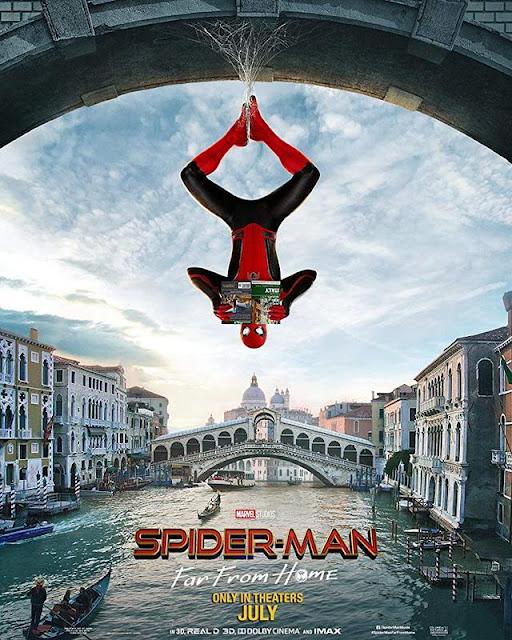 Poster de 'Spider-Man: Lejos de Casa' en Venecia