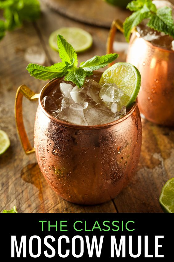 Classic Moscow Mule Recipe