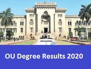 ou results 2020 manabadi