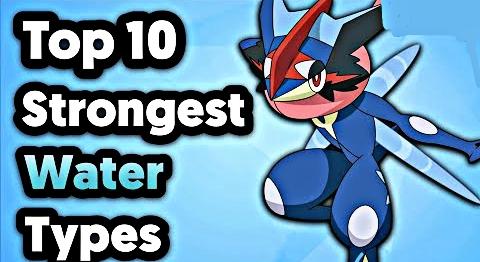 Top 10 Strongest Water Type Pokemon