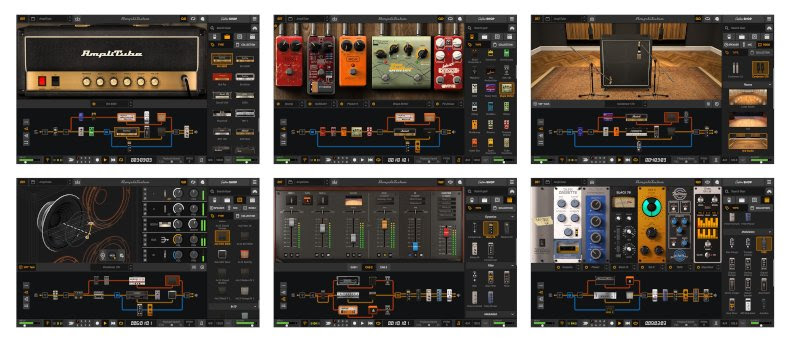 IK Multimedia releases AmpliTube 5 - the acclaimed guitar and bass tone studio is now available for download