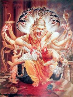 Lord Narsimha ,lord vishnu,hiranyakshapu,hiranyaksha,pralhada,pralhad,hinduism,hindu gods,mahabharata,ramayan,varaha avtar