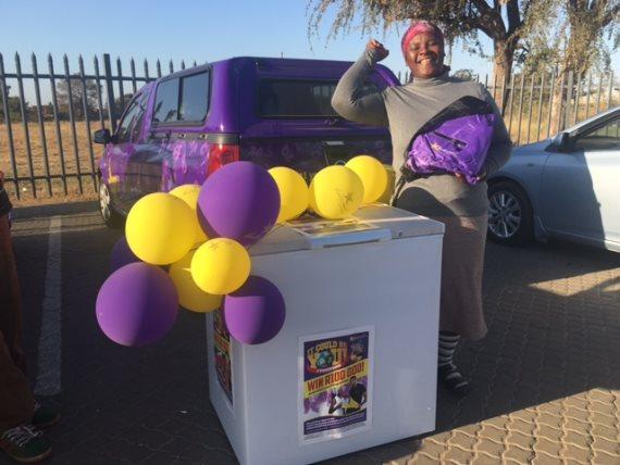 Mpumalanga #YesWena winner - June - Glory Lomthando Nkosi - Lucky Numbers - Hollywoodbets